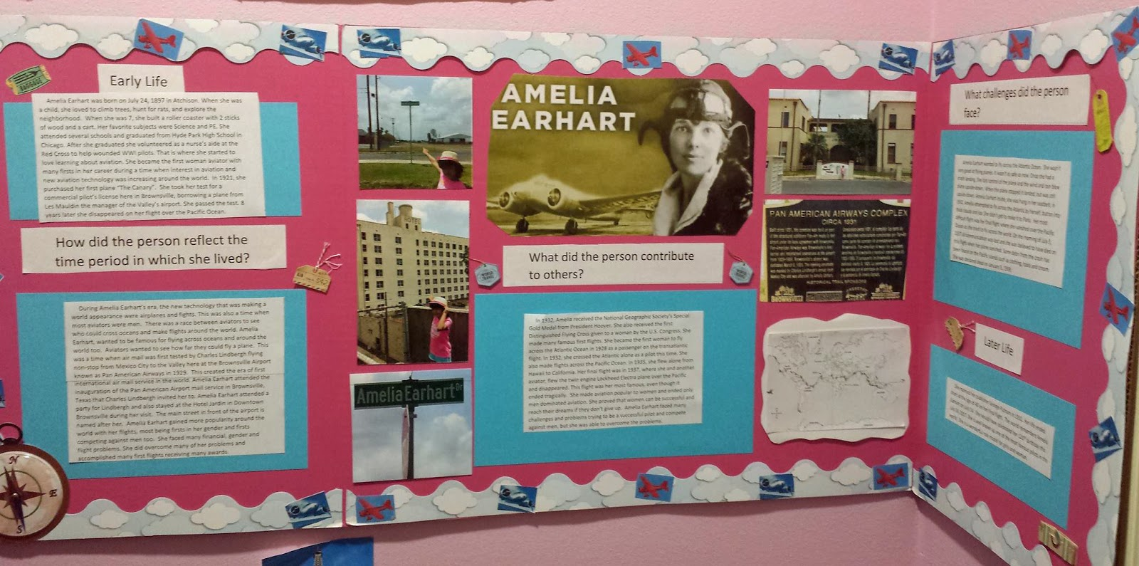 Brownsville Station Amelia Earhart And Alexandra Garcia