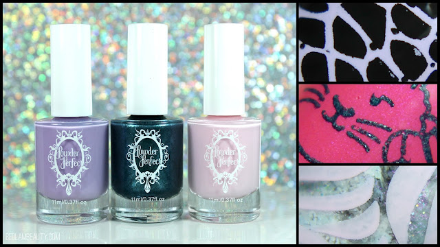 Powder Perfect Stamping Polishes