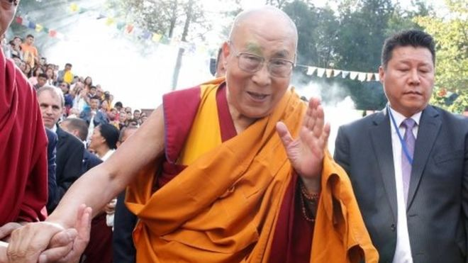 Dalai Lama, 83, admitted to hospital with chest infection