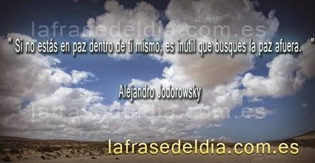 Citas para conseguir la paz de Alejandro Jodorowsky