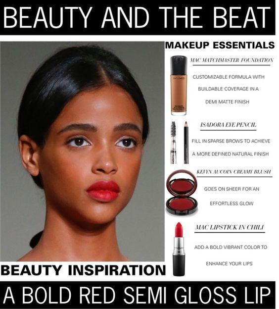 Beauty And The Beat - A Bold Red Semi Gloss Lip www.toyastales.blogspot.com #ToyasTales