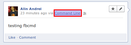 Use Facebook From The Command Line With fbcmd ~ Web