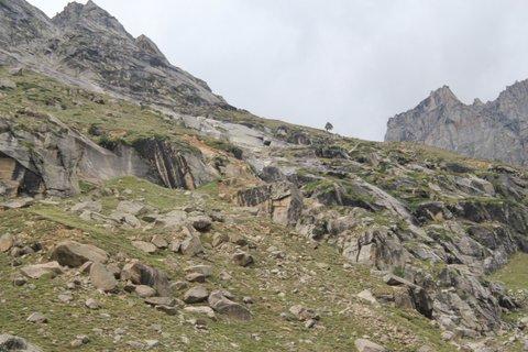 Trekking, Campsite, Chatru, Spiti