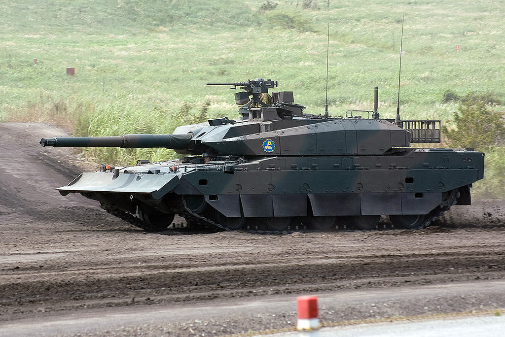 d627132ed792 Mitsubishi Heavy Industries (MHI) is the lead developer of the Type 10 MBT  project.