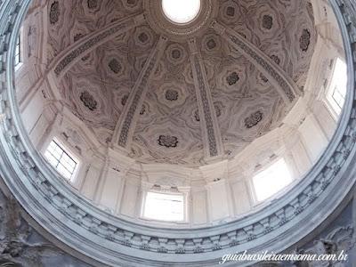Detalhe cúpola Igreja dos Santos Lucas e Martina - Pietro da Cortona