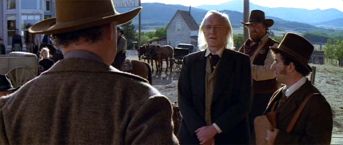 English Bob Richard Harris Saul Rubinek Unforgiven 1992 movieloversreviews.filminspector.com