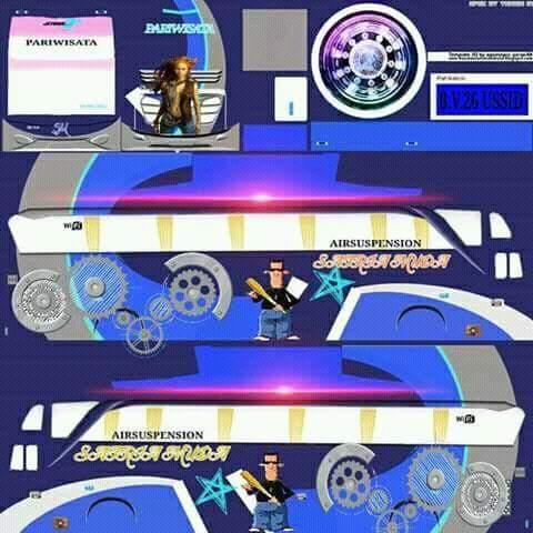 Berbagai Livery Bus Simulator Indonesia Part 2 Semua Aja