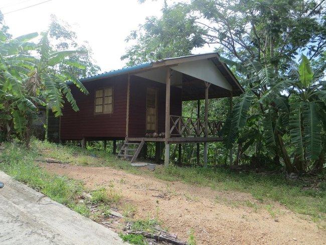 Деревянный домик Таиланд