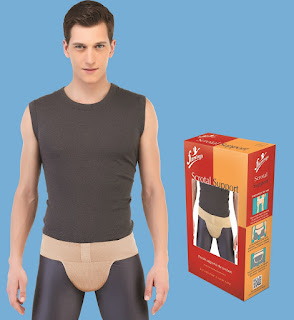 Hernia Belts and Scrotal Support by Flamingo
