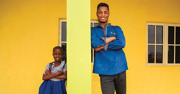 Uyi Omorogbe, founder of NASO fashion brand