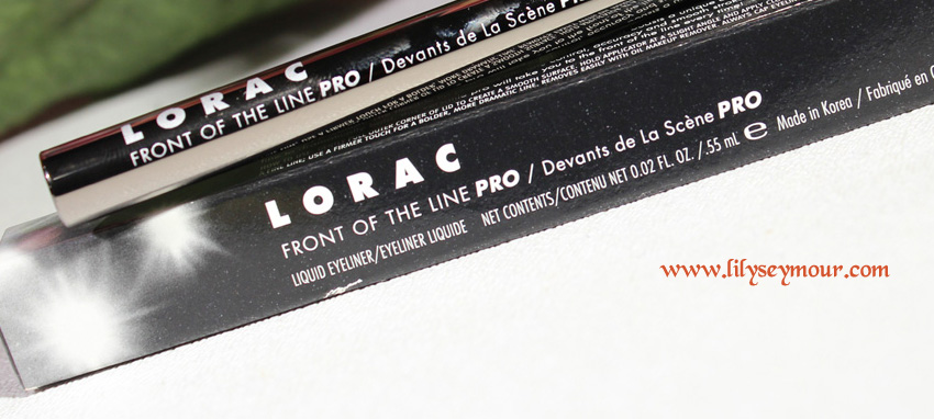 Lorac Front of The Line Pro Liquid Eyeliner in Black