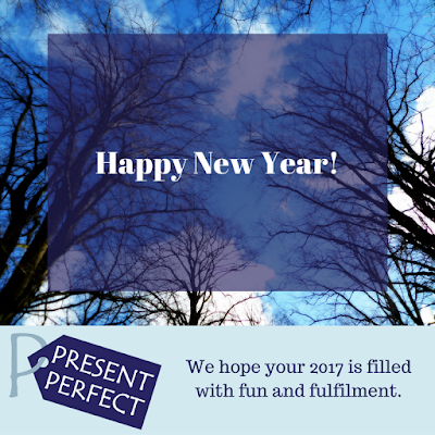 New Year Greetings from Present Perfect!
