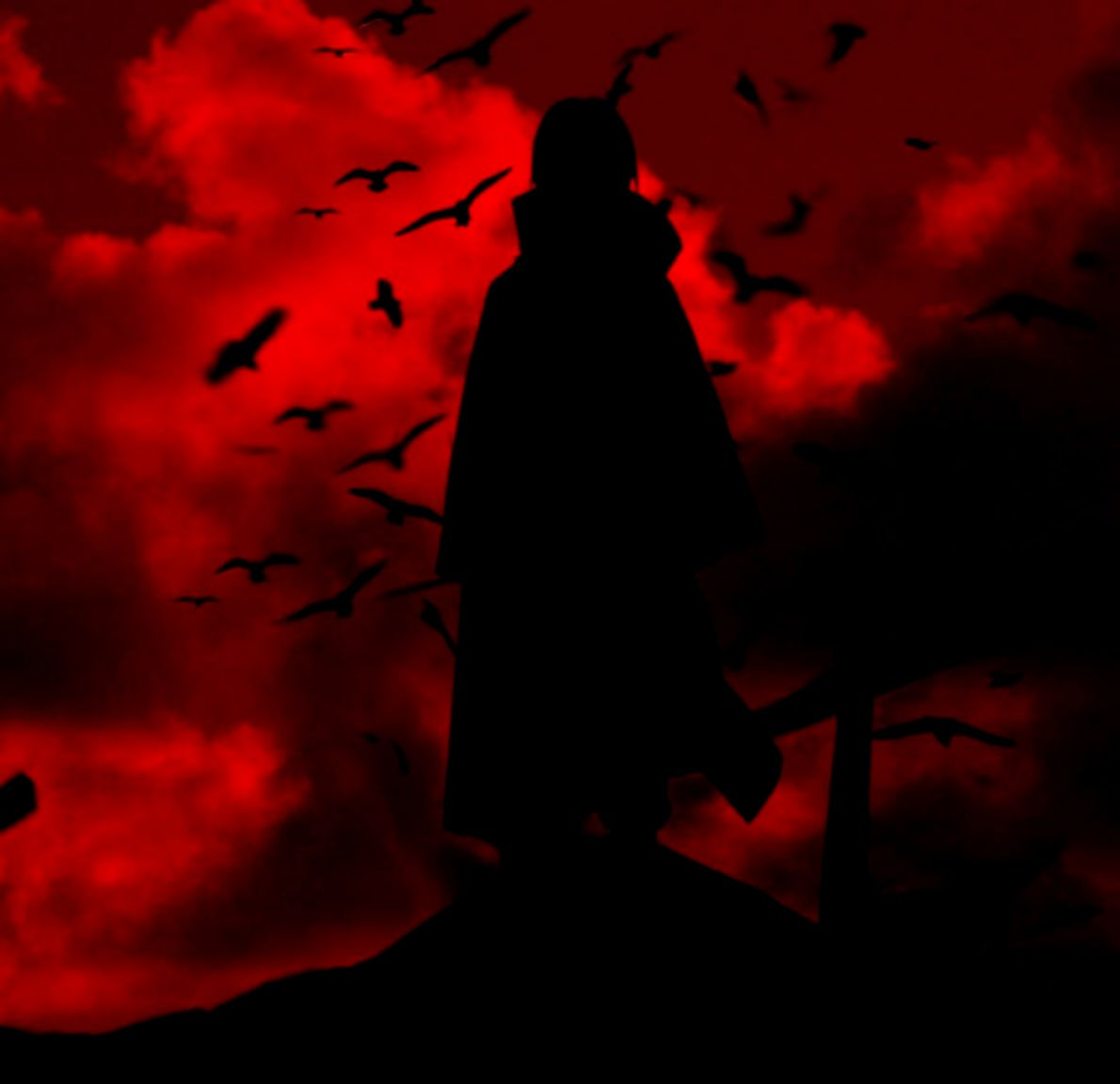 Uchiha Itachi Crow Wallpaper Free Hd