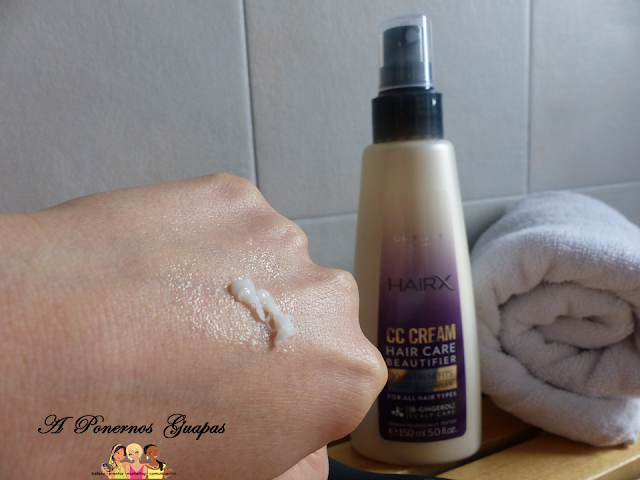 Swatch CC Cream HairX Oriflame