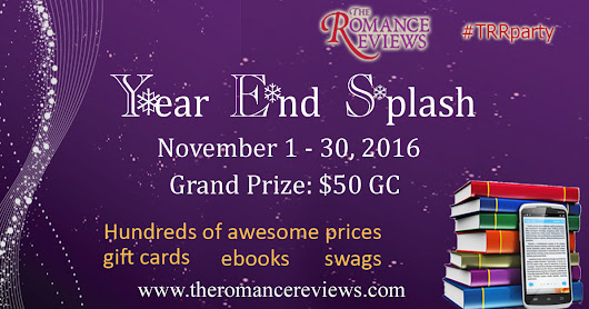 Year End Splash at The Romance Reviews #TRRparty