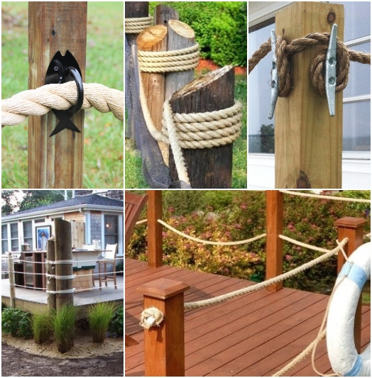 Nautical Rope Fences