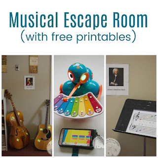 Set up a Music Themed Escape Room