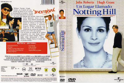 Carátula dvd: Notting hill (1999)