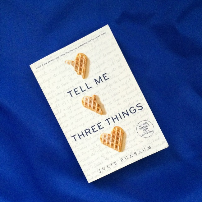 Sunday Book Club: Tell Me Three Things And Finding Audrey