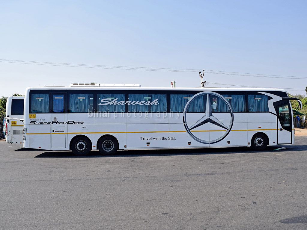 The all new mercedes benz 15m super high deck kpn travels for Mercedes benz chennai