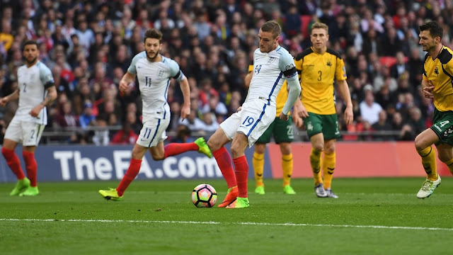 Inglaterra 2-0 Lituania en Wembley, eliminatorias Europa Rusía 2018