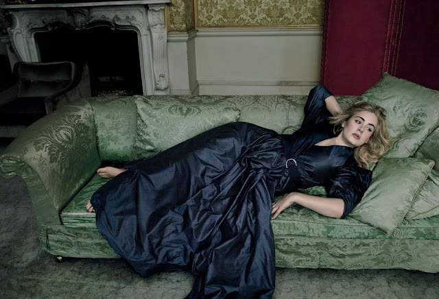 Adele Photo Shoot for Vogue Magazine March 2016 Issue