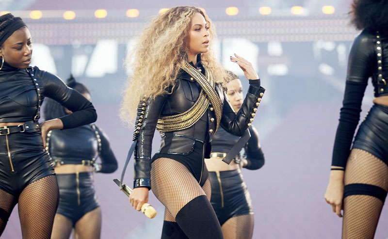 Kemi Online Beyonce Performs Formation At Superbowl 50