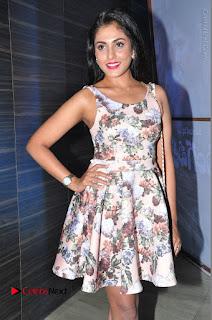 Actress Madhu Shalini Stills in Floral Short Dress at RGV Shiva to Vangaveeti Event  0119.JPG