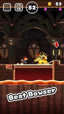 pada kesempatan kali ini admin akan share game mod terbaru for android yang sudah sangat  Super Mario Run v3.0.9 Mod Apk Terbaru (Unlocked)