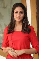 Actress Lavanya Tripathi Latest Pos in Red Dress at Radha Movie Success Meet .COM 0214.JPG