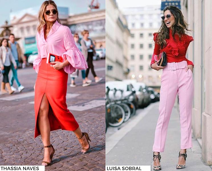 Últimas Tendências e Novidades da Moda • Vermelho&Rosa