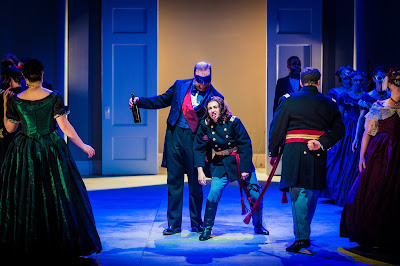 Verdi: Un ballo in maschera - Roland Wood, Tereza Gevorgyan - Grange Park Opera (Photo Robert Workman)