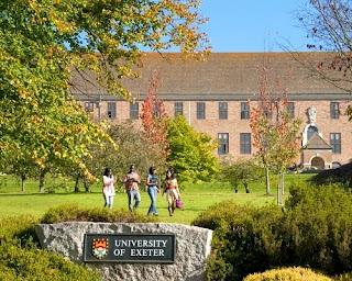 فرصة للدراسة في بريطانيا ودراسة البكالوريوس بجامعة إكستر 2019