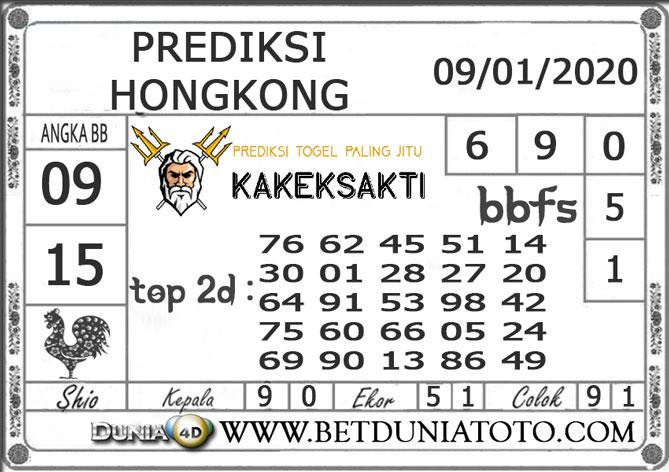 Prediksi Togel HONGKONG DUNIA4D 09 JANUARI 2020