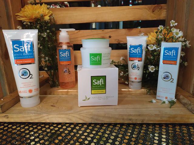 Review Safi White Expert Oil Control Anti Acne Series Anggi Putri
