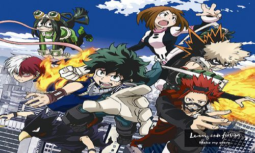 Make my story Opening 2 Boku no Hero Season 3