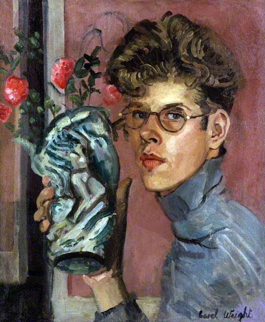 Carel Victor Morlais Weight, Self Portrait, Portraits of Painters, Fine arts, Victor Morlais Weight
