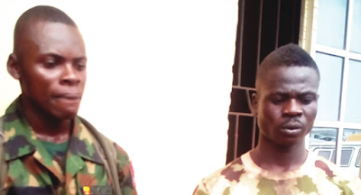 Image result for Soldier kills Ogun motorcyclist for shunning him