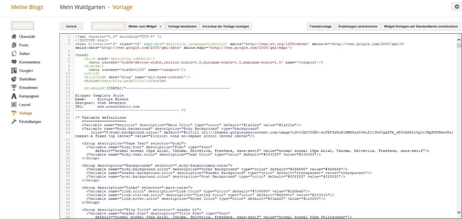 Blog-Helper - Blogger/Blogspot: Suche im Blogger-HTML-Editor!