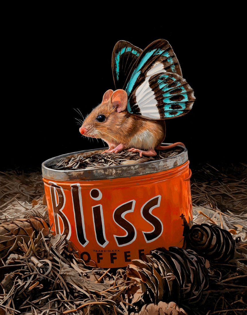 02-Bliss-Lisa-Ericson-Mouserflies-and-Friends-Paintings-X-Men-Among-Animals-www-designstack-co