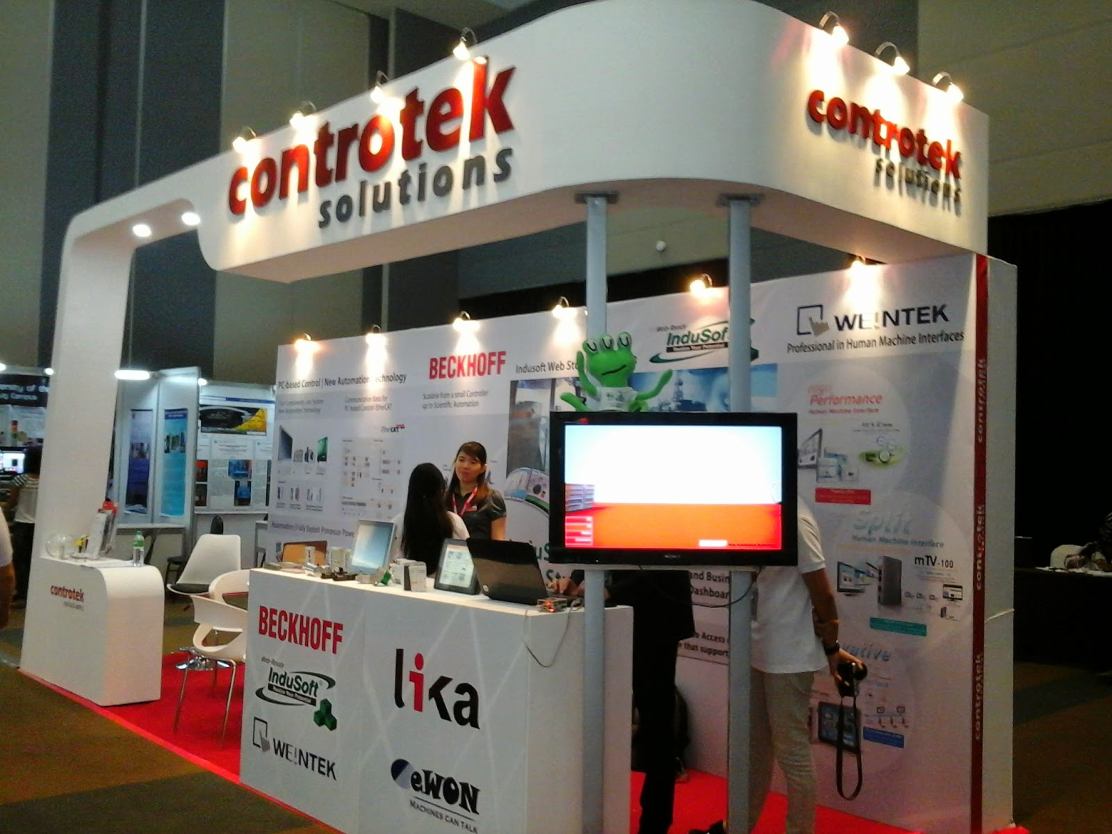 Controtek Solutions Exhibit Booth