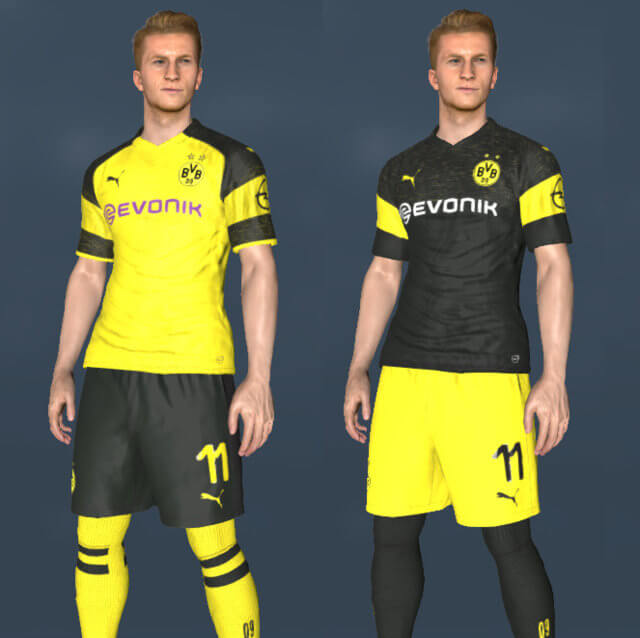 Borussia Dortmund Kit 2018-19 PES 2017
