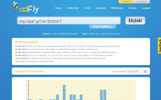 Cara Menghasilkan Uang dari Internet dengan Link AdF.ly