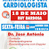 Atendimento com cardiologista dia 18 de Maio na Clilab em Ruy Barbosa