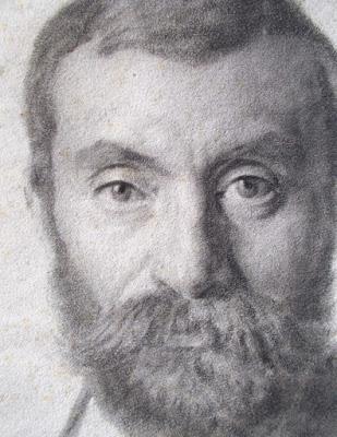 Mauro Conconi - ritratto a carboncino - arte - Ottocento - annunci