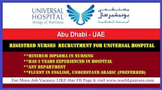 Registred Nurses & Midwifes (HAAD/DHA)