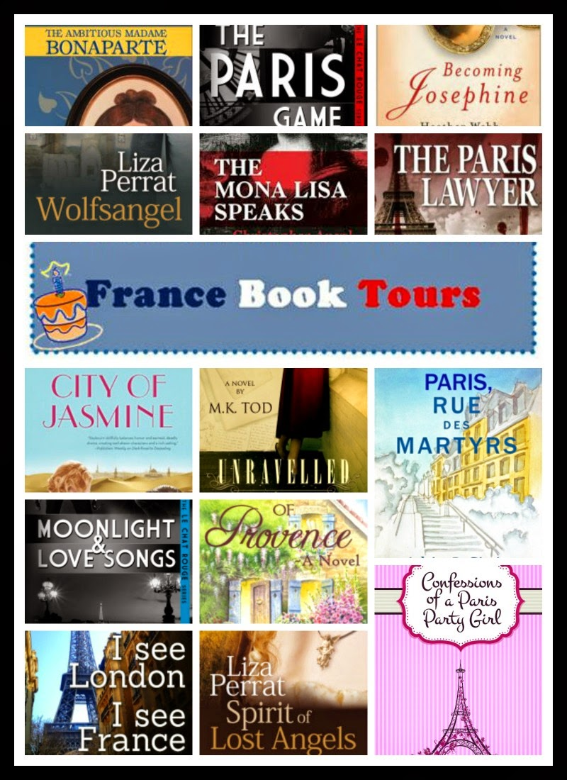 France Book Tours: 12 Books to Giveaway