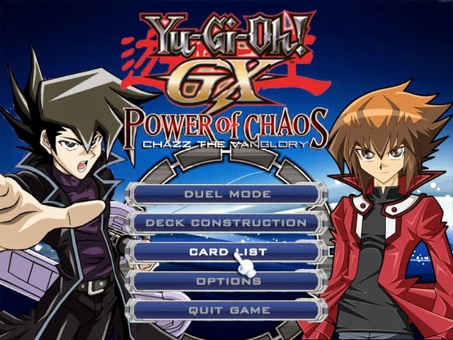 JOEY GRATUITEMENT OF YU-GI-OH PASSION THE CHAOS POWER TÉLÉCHARGER