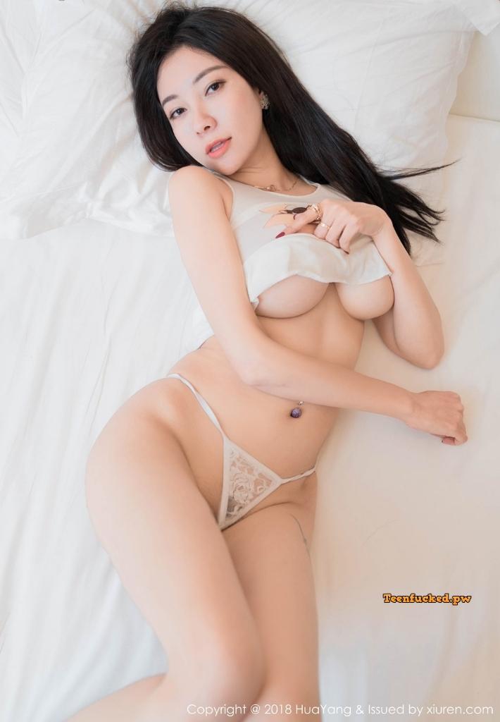 HuaYang 2018 10 23 Vol.090 Victoria Guo Er MrCong.com 003 wm - HuaYang Vol.090: Người mẫu Victoria (果儿) (43 ảnh)
