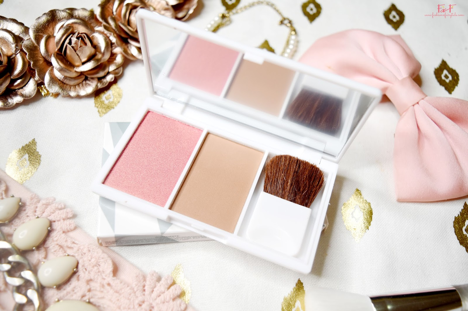 EB Advance Blush Duo in Golden Goddess | Review & Swatches
